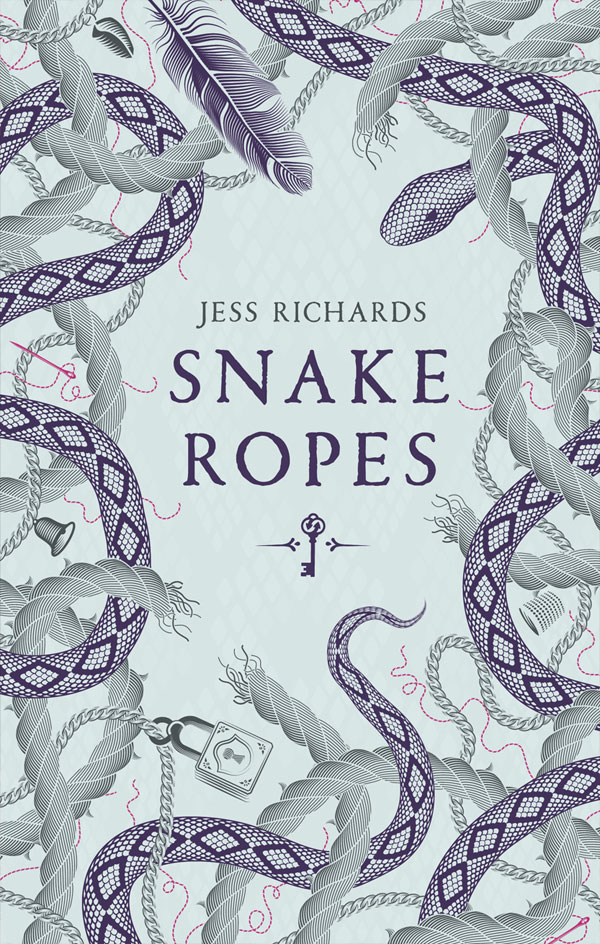 Snake Ropes by author Jess Richards